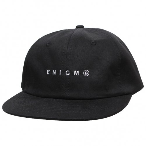 ENiGMa (エニグマ) STRAIGHT CAP (BLACK)