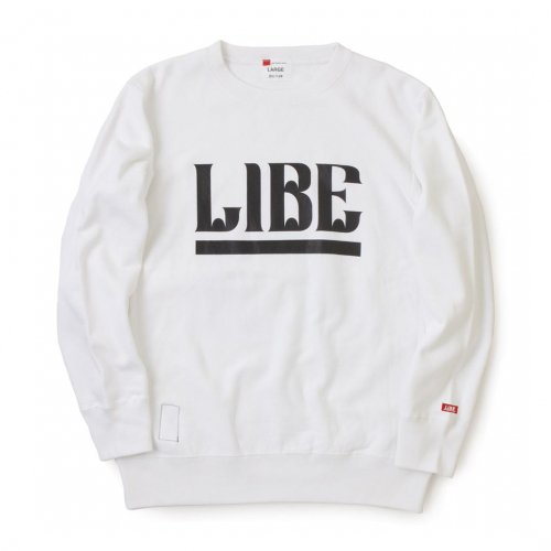 LIBE ( ライブ ) QP BIG LOGO SWEAT 16A02