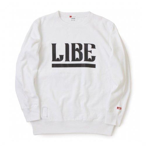 LIBE ( ライブ ) QP BIG LOGO SWEAT 16A02