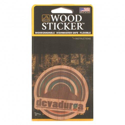 DEVADURGA ( デヴァドゥルガ ) ステッカー WOOD STICKER dg-1125