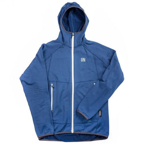 UN ( ユーエヌ ) UN2100 LIGHT WEIGHT FLEECE HOODY ( NAVY )