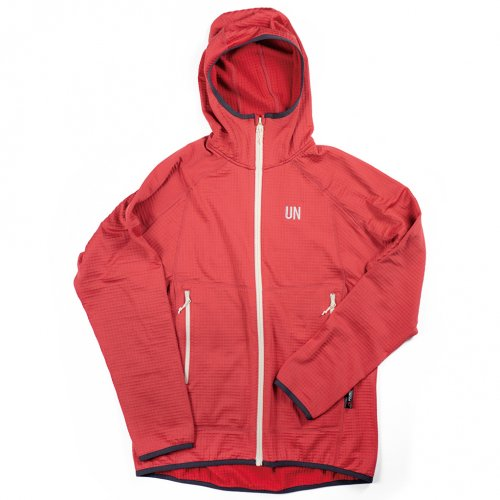 UN ( ユーエヌ ) UN2100 LIGHT WEIGHT FLEECE HOODY ( RED )