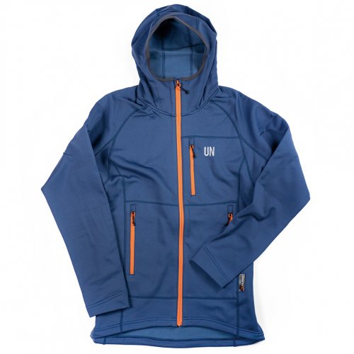 UN ( ユーエヌ ) UN3100 MID WEIGHT FLEECE HOODY ( NAVY )