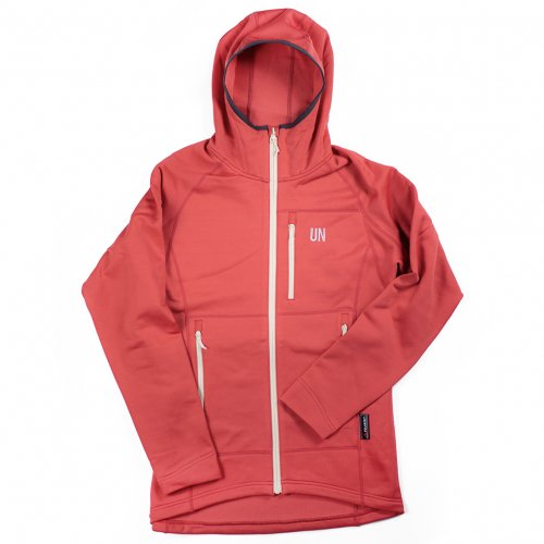 UN ( ユーエヌ ) UN3100 MID WEIGHT FLEECE HOODY ( RED )