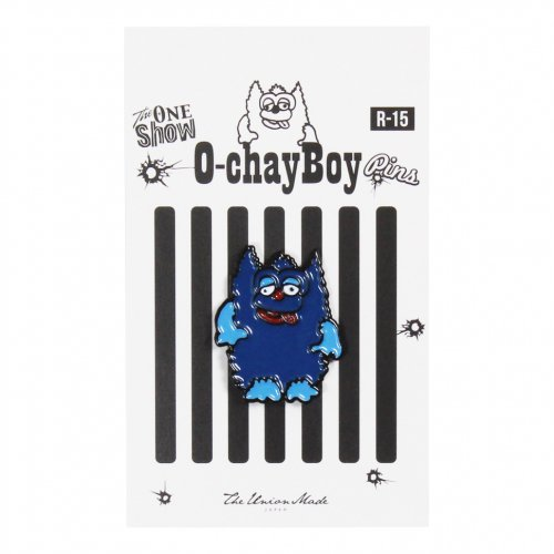 THE UNION ( ザユニオン ) ピンバッジ O-CHAY BOY PINS