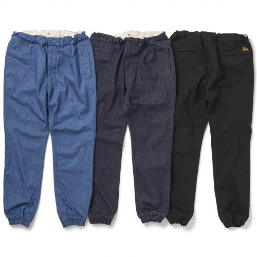 PIG&ROOSTER (ピッグアンドルースター) HOLOHOLO DENIM PANTS (WASH BLUE) PR-7SS-PT02