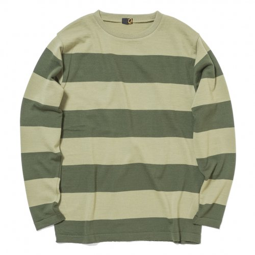 GREENCLOTHING ( グリーンクロージング ) 19-20 WOOL LAYER ( OLIVE×OLIVE )