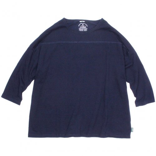 GOHEMP (ゴーヘンプ) BASIC MEN'S L/SL TEE (TOP GRAY) GHC4260TP5
