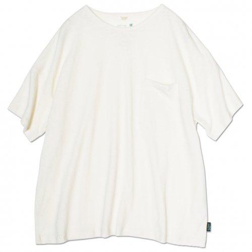 GOHEMP ( ゴーヘンプ ) ワイドポケットTシャツ BASIC LADY'S WIDE PK TEE ( NATURAL ) GHC4290RG