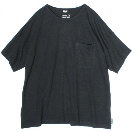 GOHEMP ( ゴーヘンプ ) ワイドポケットTシャツ BASIC LADY'S WIDE PK TEE ( GUNMETAL GRAY ) GHC4290RG18