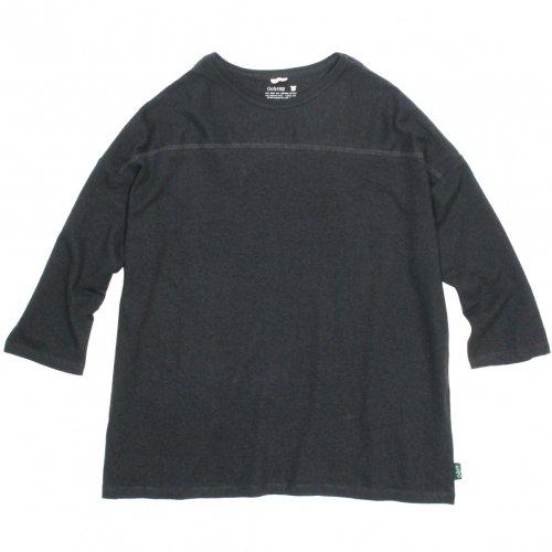 GOHEMP ( ゴーヘンプ ) ワイドフットボールTシャツ BASIC LADY'S WIDE FOOTBALL TEE ( GUNMETAL GRAY ) GHC4298RG