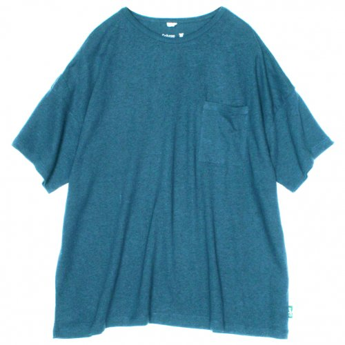 GOHEMP ( ゴーヘンプ ) ワイドポケットTシャツ BASIC LADY'S WIDE PK TEE ( NIAGARA BLUE ) GHC4290RG