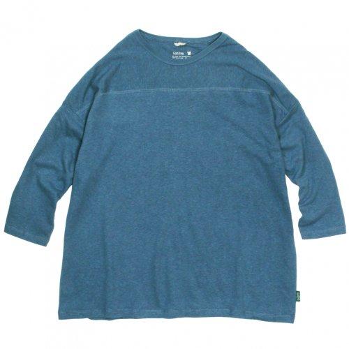 GOHEMP ( ゴーヘンプ ) ワイドフットボールTシャツ BASIC LADY'S WIDE FOOTBALL TEE ( NIAGARA BLUE ) GHC4298RG