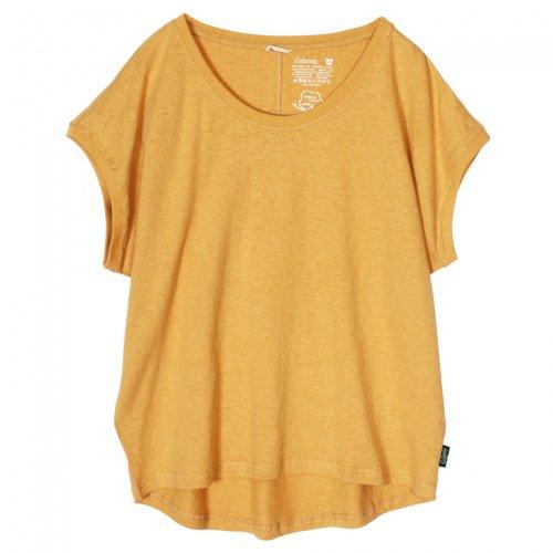 GOHEMP ( ゴーヘンプ ) サニーラウンドTシャツ BASIC LADY'S SUNNY ROUND TEE ( SUNSET GOLD ) GHC4252RG