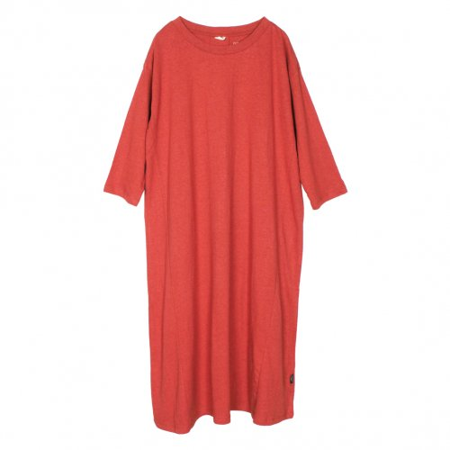 GOHEMP ( ゴーヘンプ ) BASIC LADY'S SUNNY LOOSE OP ( POPPY RED ) GHC4286RG17