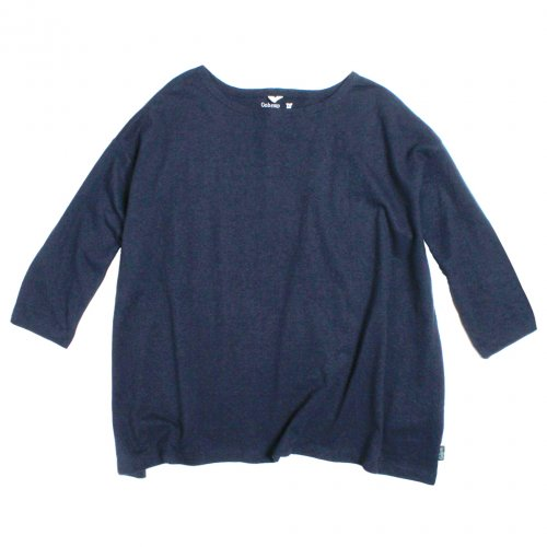 GOHEMP ( ゴーヘンプ ) LADY'S SUNNY WIDE TEE ( MARINE NAVY ) GHC4287RG