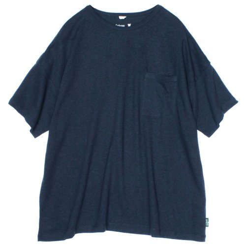 GOHEMP (ゴーヘンプ) LADY'S SUNNY WIDE TEE (TOP GRAY) GHC4287RG17