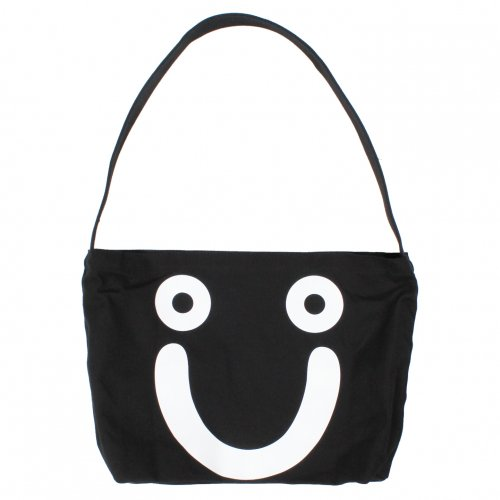 POLAR (ポーラー) HAPPY SAD TOTE BAG (BLACK)