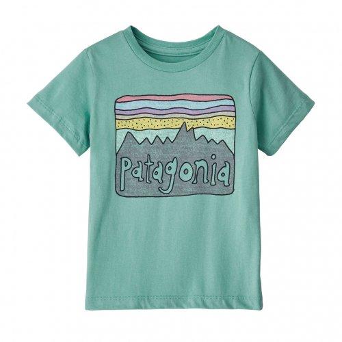 PATAGONIA ( パタゴニア ) キッズTシャツ BABY FITZ ROY SKIES ORGANIC T-SHIRT ( LBYG ) 60419