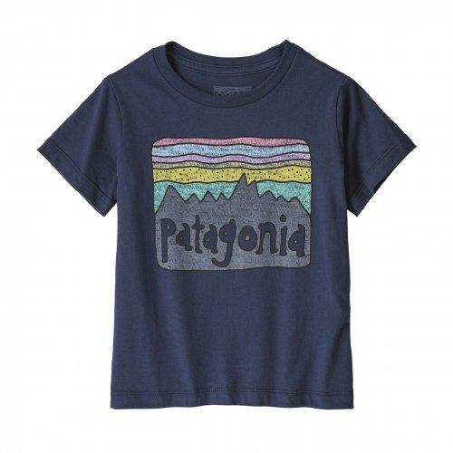 PATAGONIA ( パタゴニア ) キッズTシャツ BABY FITZ ROY SKIES ORGANIC T-SHIRT ( NENA ) 60419