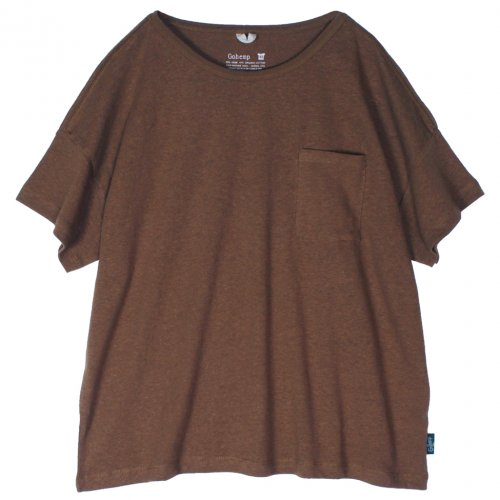 GOHEMP (ゴーヘンプ) BASIC MEN'S WIDE TEE (OLIVE GREEN) GHC4283RG17