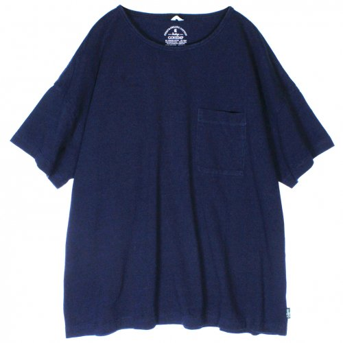 GOHEMP (ゴーヘンプ) BASIC LADY'S WIDE TEE (POPPY RED) GHC4283RG17