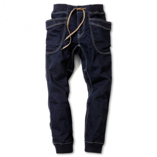 GOHEMP (ゴーヘンプ) MEN'S VENDOR RIB PANTS (ONE WASH) GHP1085DSO