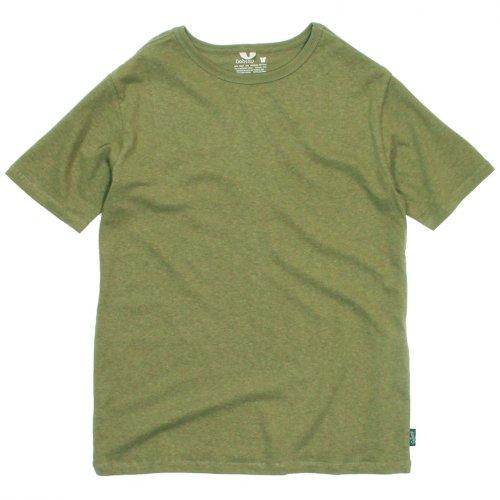 GOHEMP ( ゴーヘンプ ) Tシャツ BASIC LADY'S S/SL TEE ( LIME GREEN ) GHC4200RG