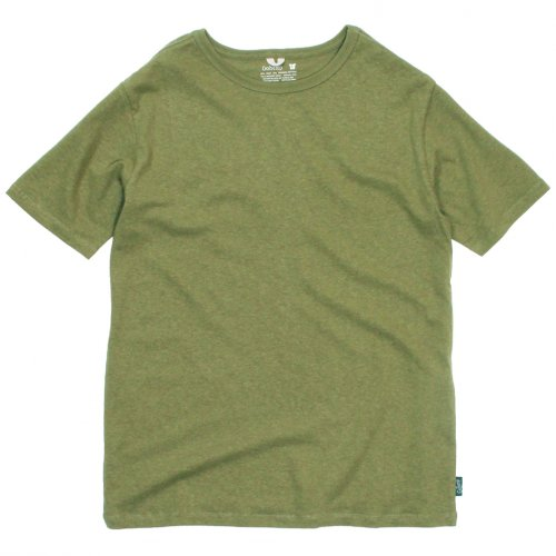 GOHEMP (ゴーヘンプ) BASIC LADY'S TIE DYE MULTI WIDE TEE (OLIVE GREEN) GHC4283TEM