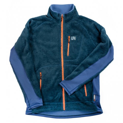 UN ( ユーエヌ ) UN3400 HIGH LOFT FLEECE JACKET ( BLUE )