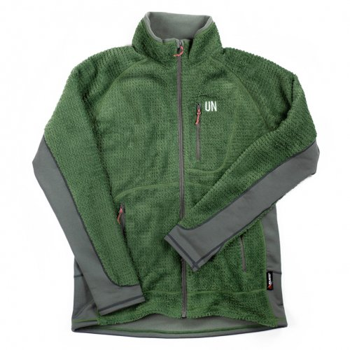 UN ( ユーエヌ ) UN3400 HIGH LOFT FLEECE JACKET ( GREEN )