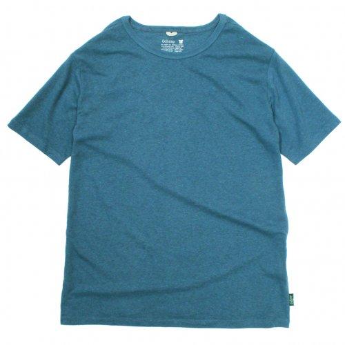 GOHEMP ( ゴーヘンプ ) Tシャツ BASIC LADY'S S/SL TEE ( NIAGARA BLUE ) GHC4200RG