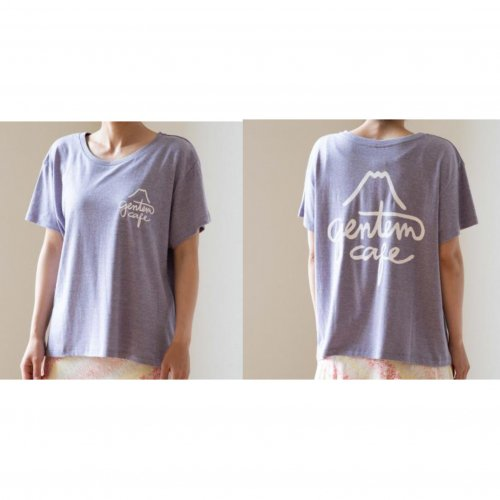 GENTEMSTICK (ゲンテンスティック) × Se. WOMEN'S FISH POCKET TEE (APRICOT)