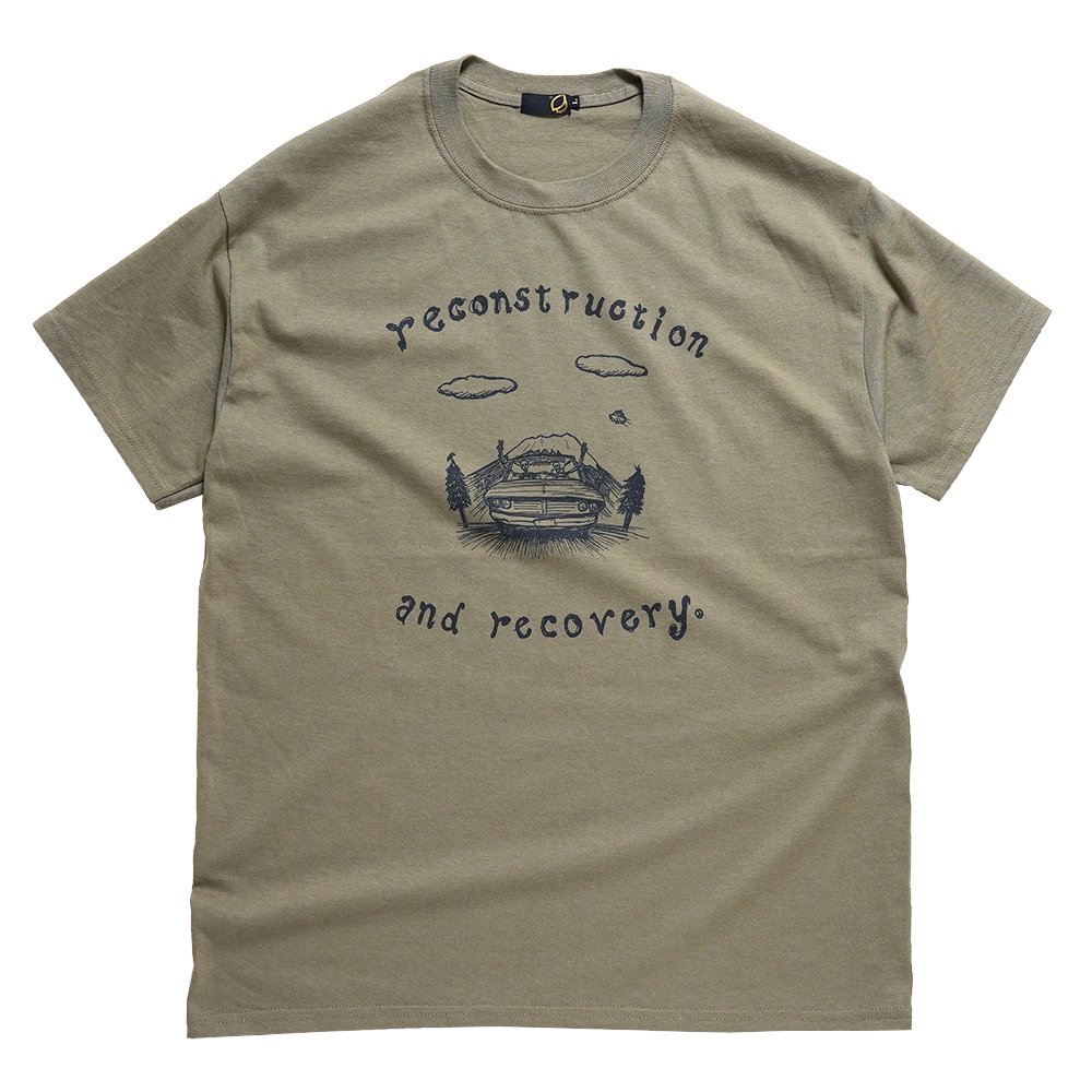 GOHEMP (ゴーヘンプ) BASIC MEN'S WIDE TEE (COFFEE BROWN) GHC4283RG17
