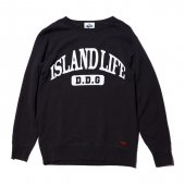 DEVADURGA (デヴァドゥルガ) ISLAND LIFE SWEAT (BLACK) dg-707