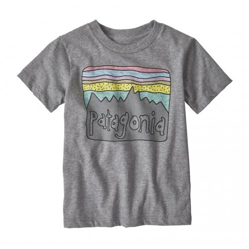 PATAGONIA (パタゴニア) BABY FITZ ROY SKIES COTTON / POLY T-SHIRT (NHG) 60413