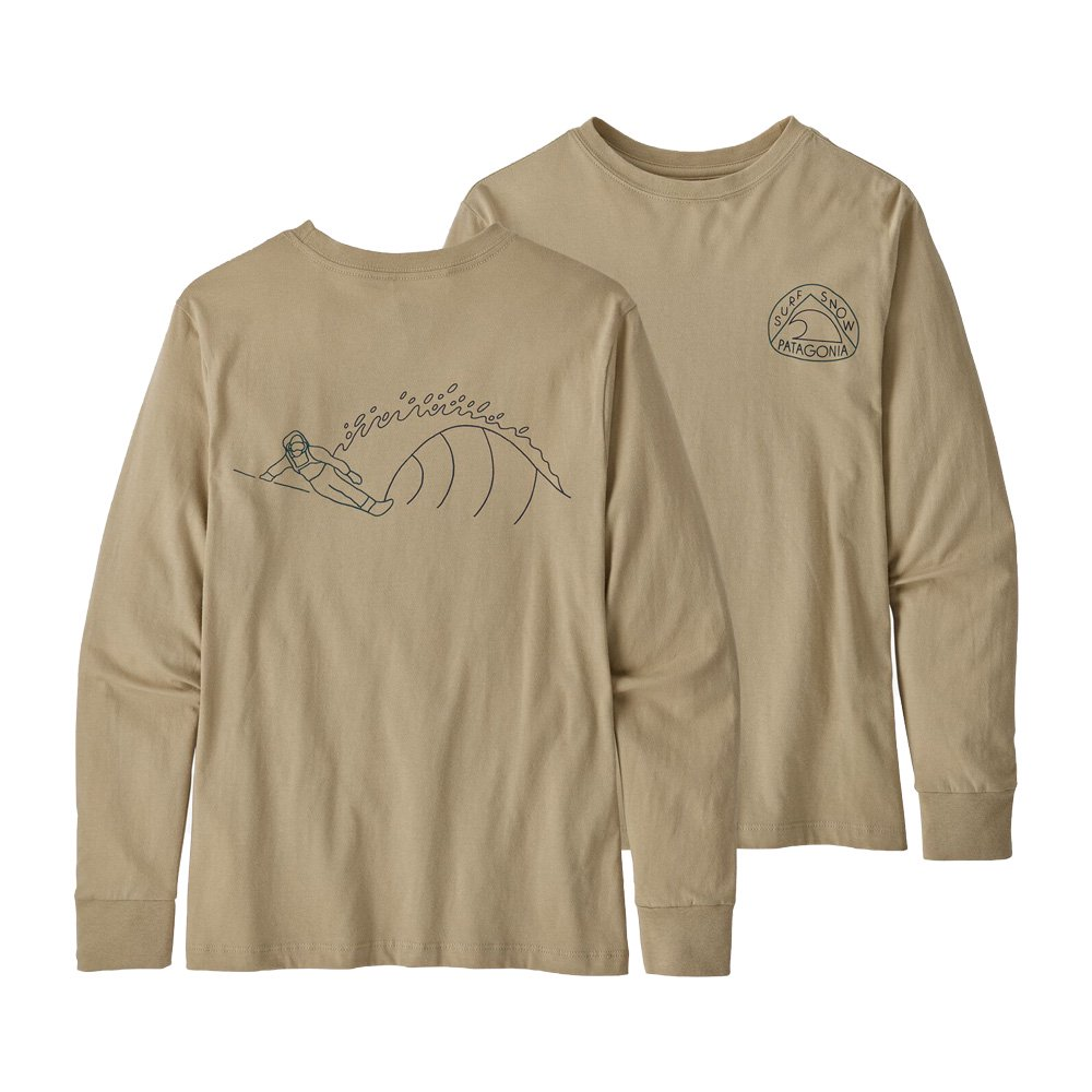PATAGONIA (パタゴニア) BABY FITZ ROY SKIES COTTON / POLY T-SHIRT (RAD) 60413