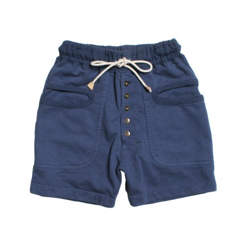 RULEZPEEPS (ルールズピープス) LADY'S O/G COTTON INLAY SHORTS (NAVY) 17RZ0024