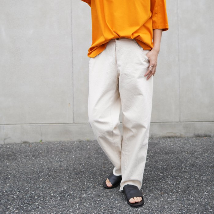 RULEZPEEPS (ルールズピープス) LADY'S O/G COTTON INLAY PANT (NAVY) 17RZ0024