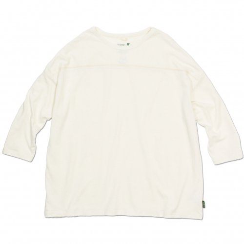 GOHEMP ( ゴーヘンプ ) ワイドフットボールTシャツ BASIC LADY'S WIDE FOOTBALL TEE ( NATURAL ) GHC4298RG