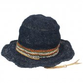 GOHEMP (ゴーヘンプ) HIGHLAND HAT (NAVY) GHG0397HPH