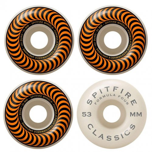 SPITFIRE ( スピットファイアー ) ウィール F4 FORMULA FOUR 99D CLASSIC SHAPE 53mm