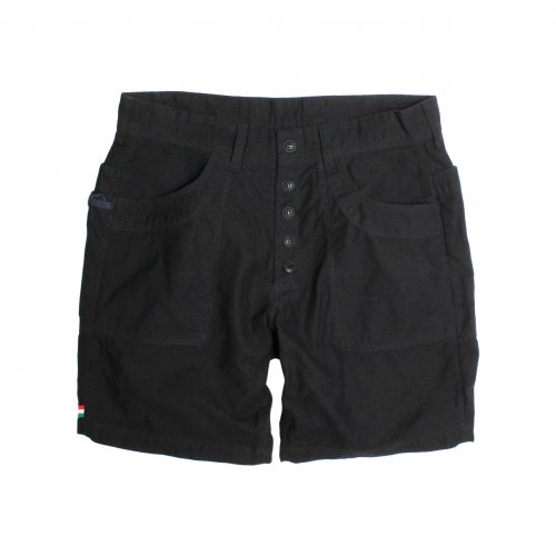 LIBE ( ライブ ) × REMILLA ( レミーラ ) COTTON CARGO SHORTS (BLACK) 17S32