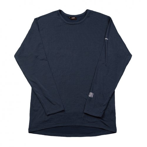 UN ( ユーエヌ ) NEW UN1000 CREW NECK UNDERWEAR ( NAVY )