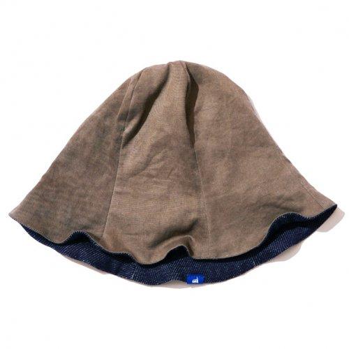 DEVADURGA ( デヴァドゥルガ ) チューリップハット DYE & DENIM TURIP HAT dg-1057