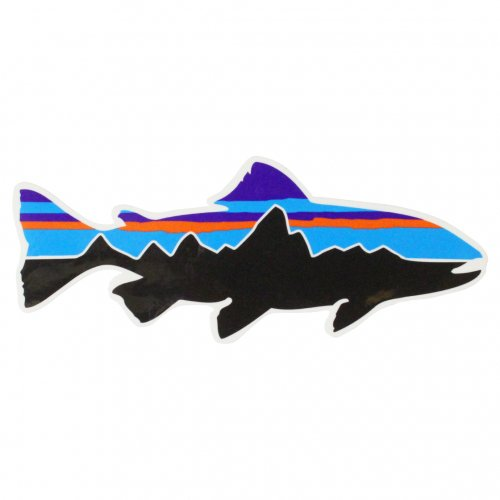 PATAGONIA ( パタゴニア ) ステッカー FITZ ROY TROUT STICKER
