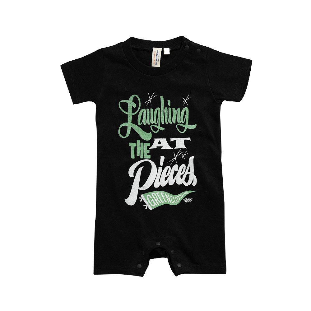 GREENCLOTHING ( グリーンクロージング ) キッズロンパース KID'S LAUGHING ROMPERS