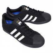 ADIDAS SKATEBOARDING (アディダススケートボーディング) SUPERSTAR VULC ADV (BLACK/WHITE/BLACK)
