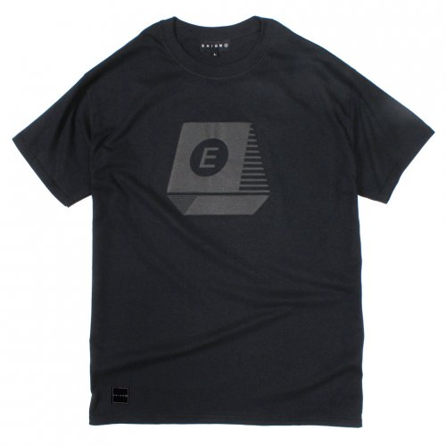 ENiGMa (エニグマ) TYPEWRITER FOAM PRINT T-SHIRTS (BLACK)