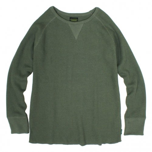 GOHEMP ( ゴーヘンプ ) MEN'S DAILY L/SL ( SAGE GREEN ) GHC9126HVT
